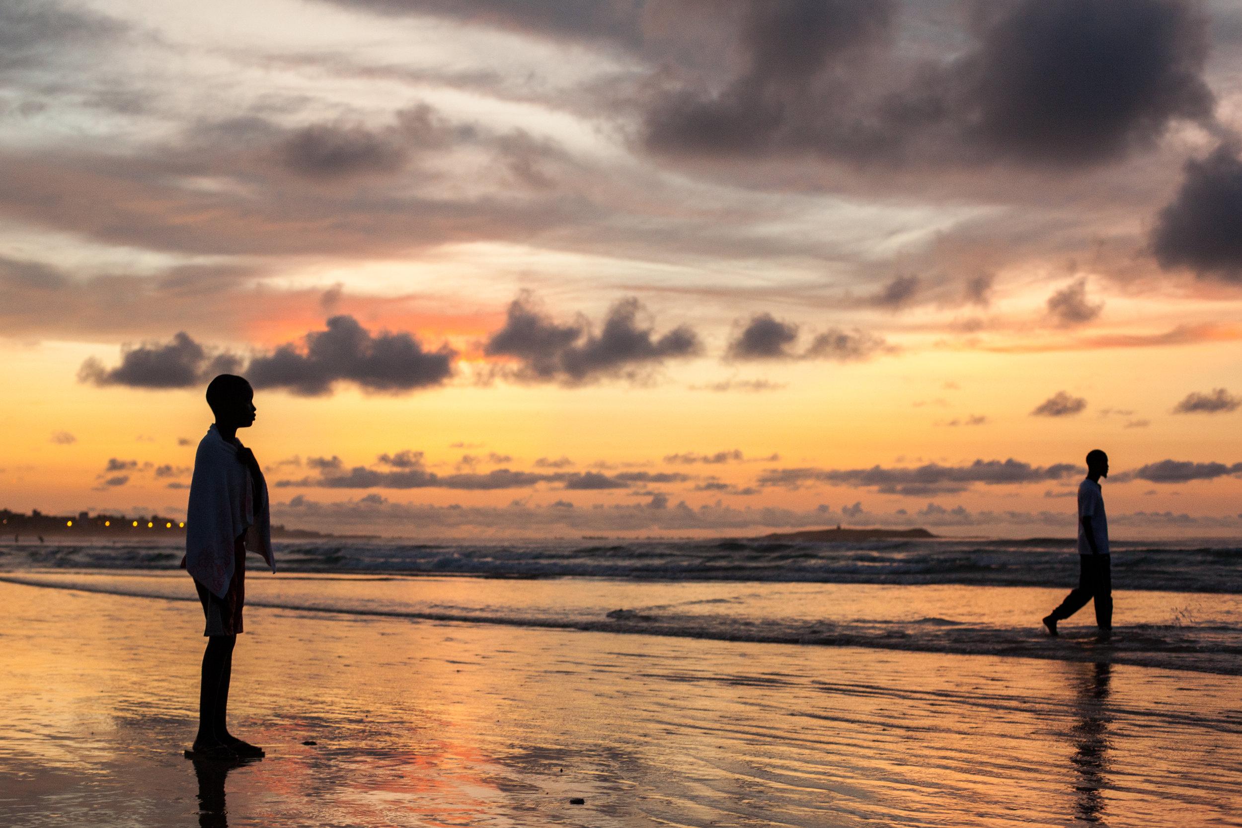 Silhouette photo in Senegal