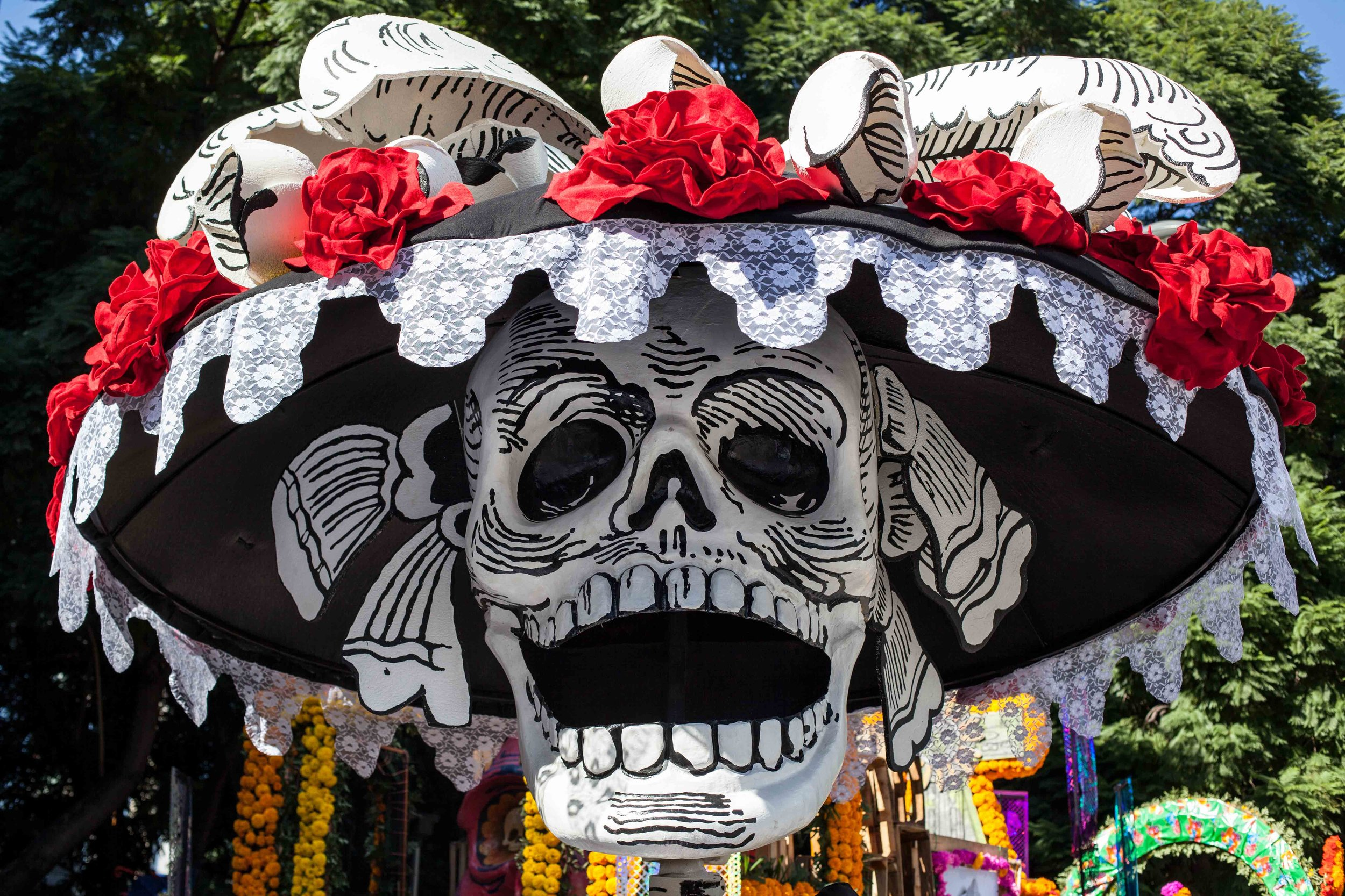 In 2017 Mexico City held it's first Day of the Dead/Día de Muertos parade.