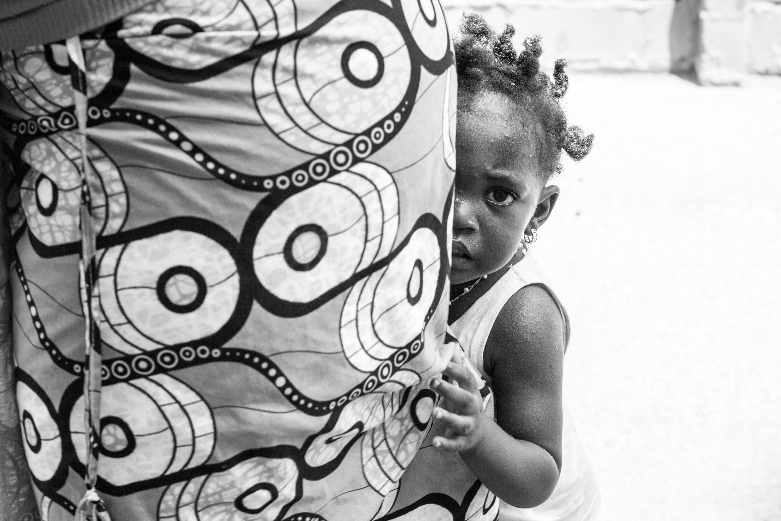 African street portrait.