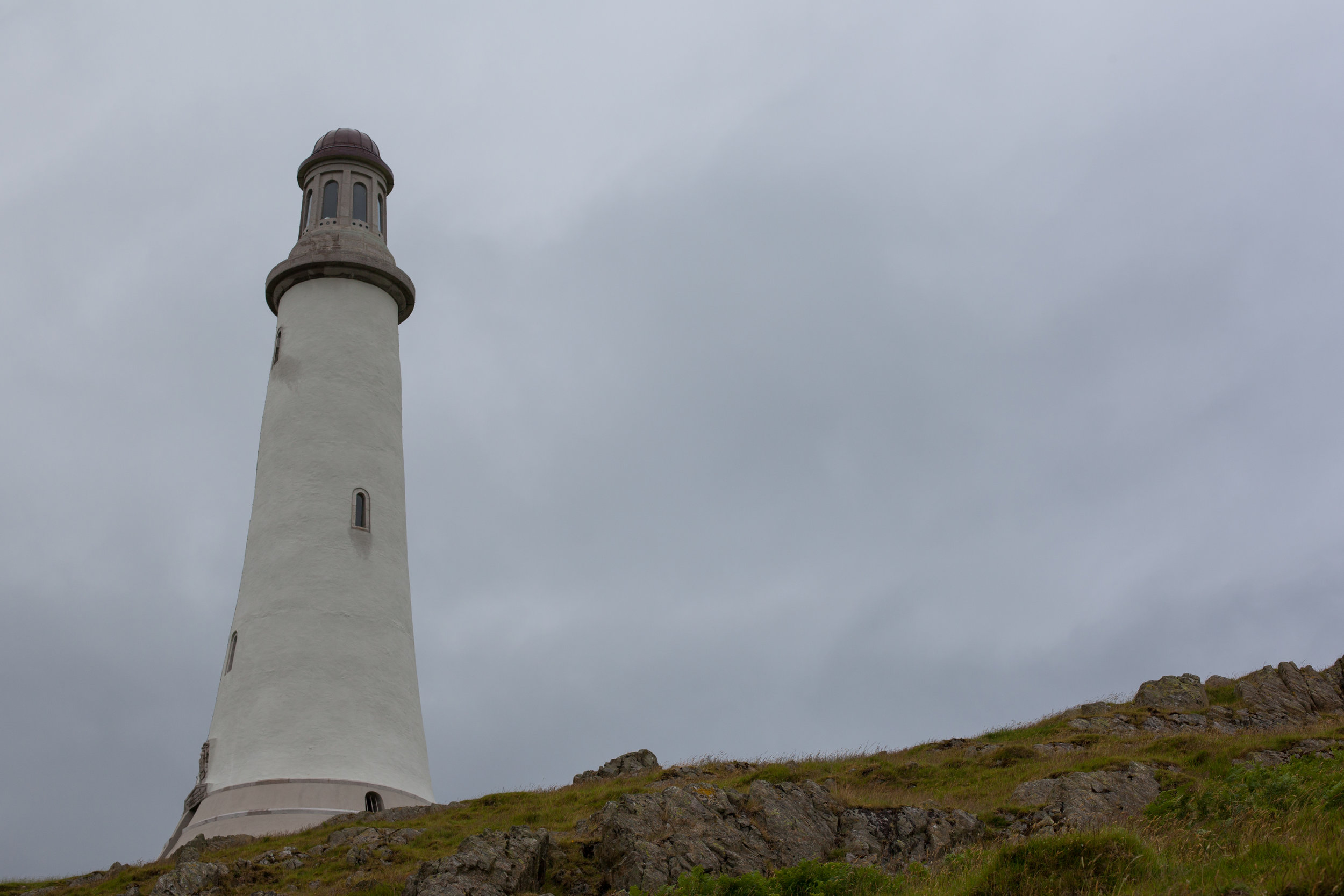 A large lighthouse in Great Britain.