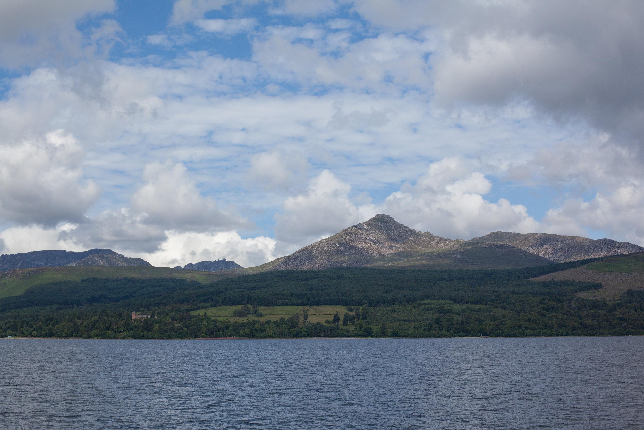 Beautiful Scotland in a landscape photo.