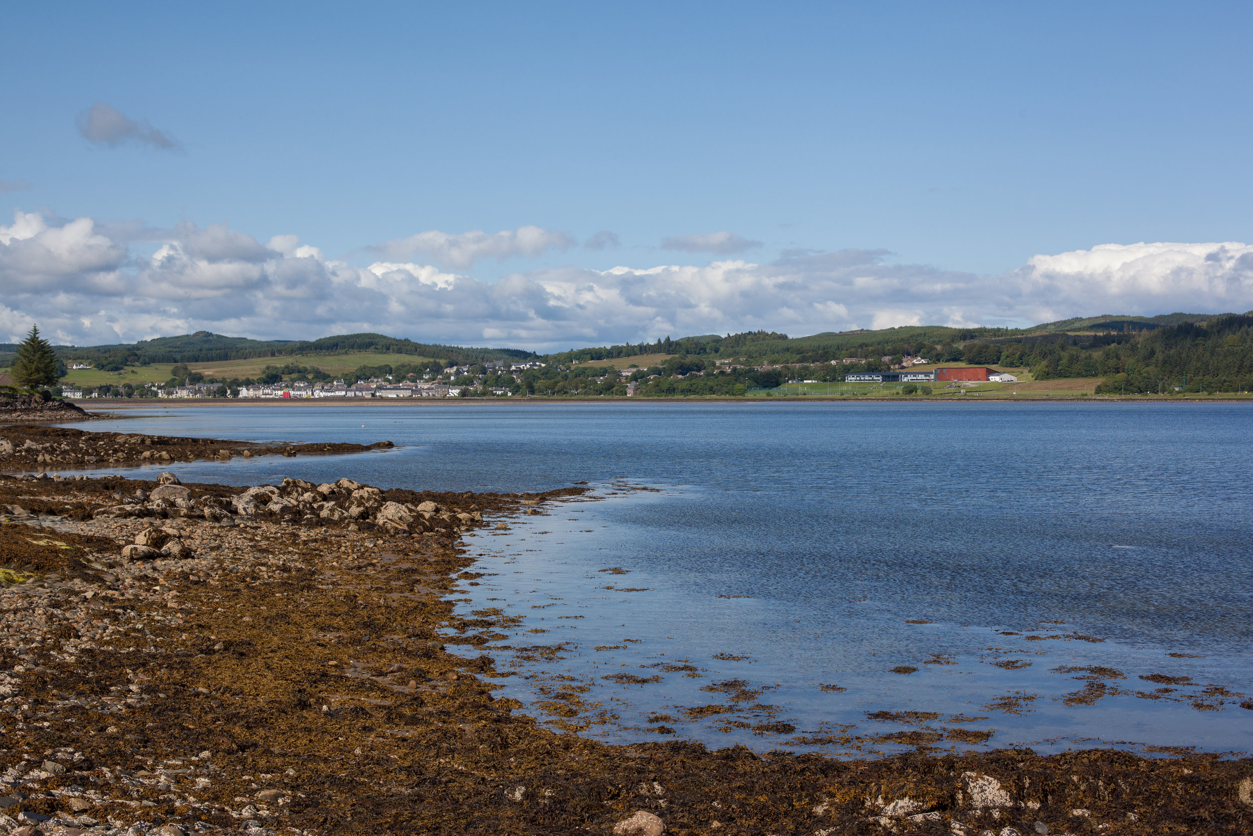 A Scottish landscape.