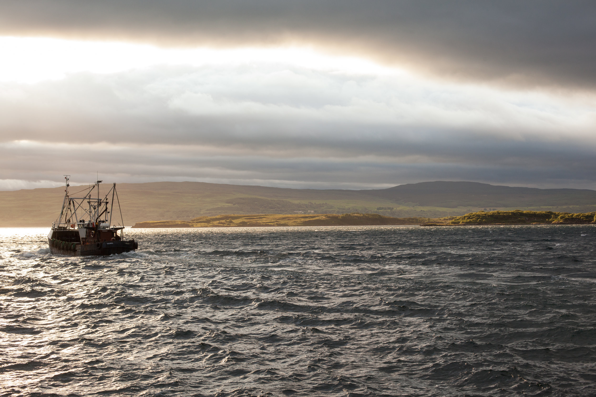 Open Seas, Morning Light, Scotland