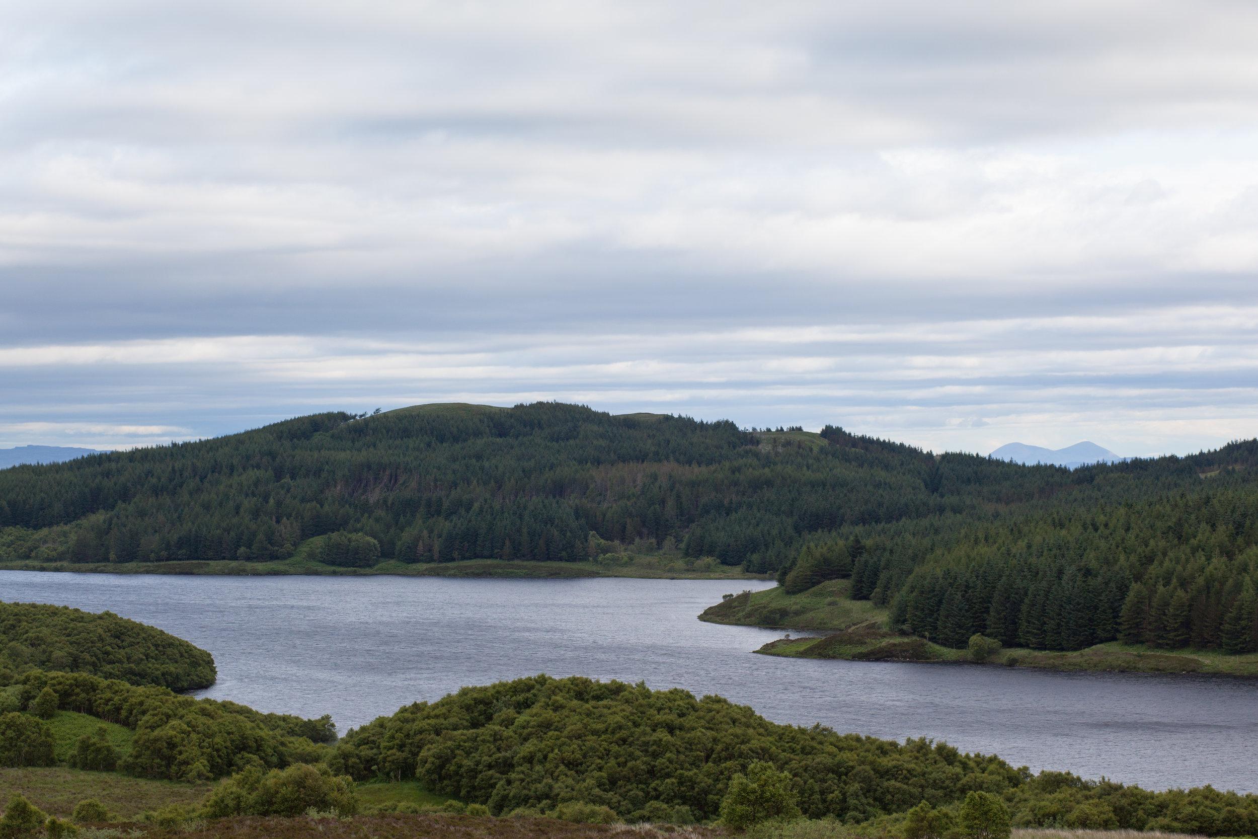 A loch in Scotland.