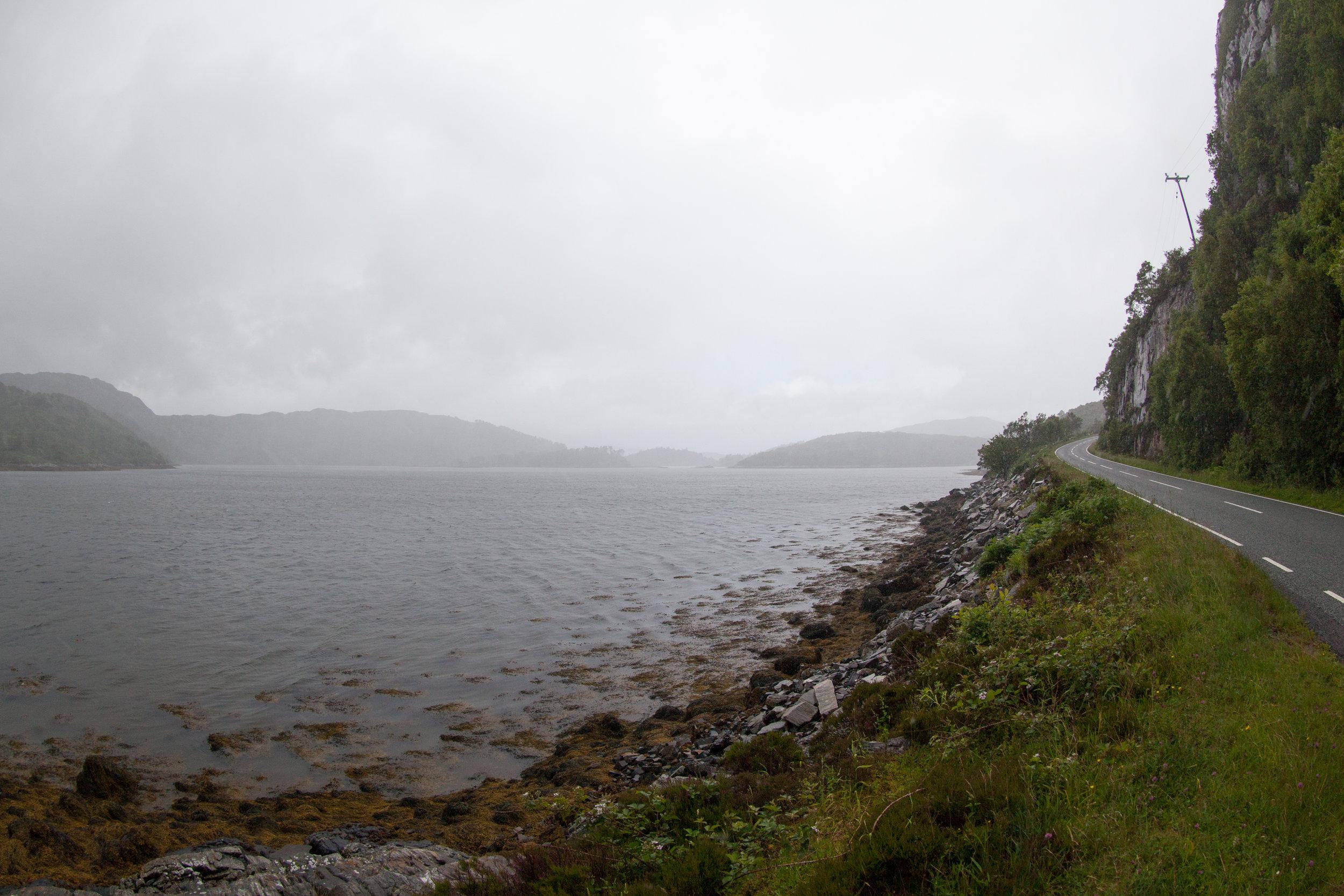 Road to Nowhere, Scotland.