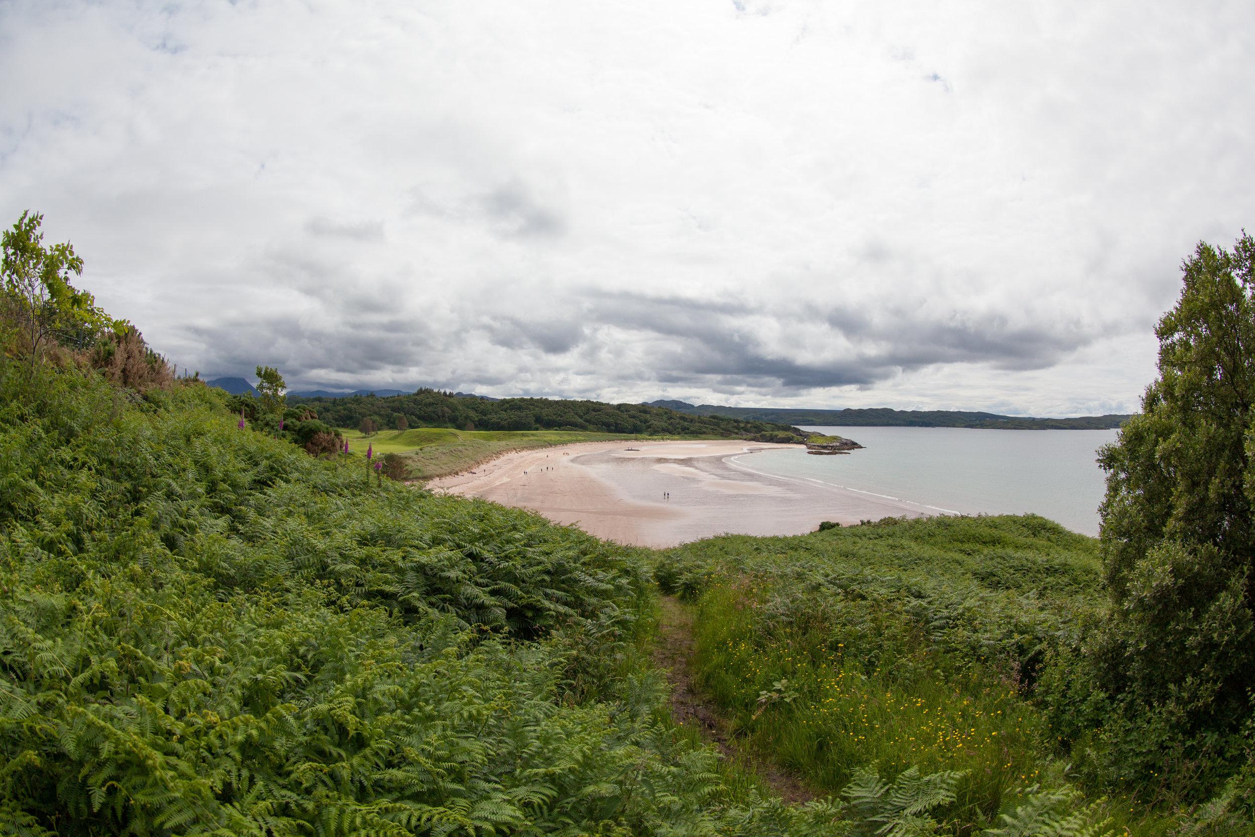 Scottish landscape.
