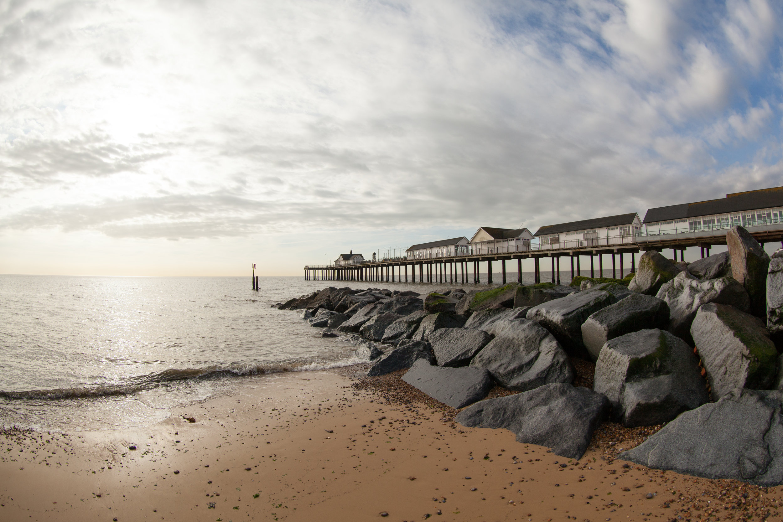 Down by the Sea, Southwold.