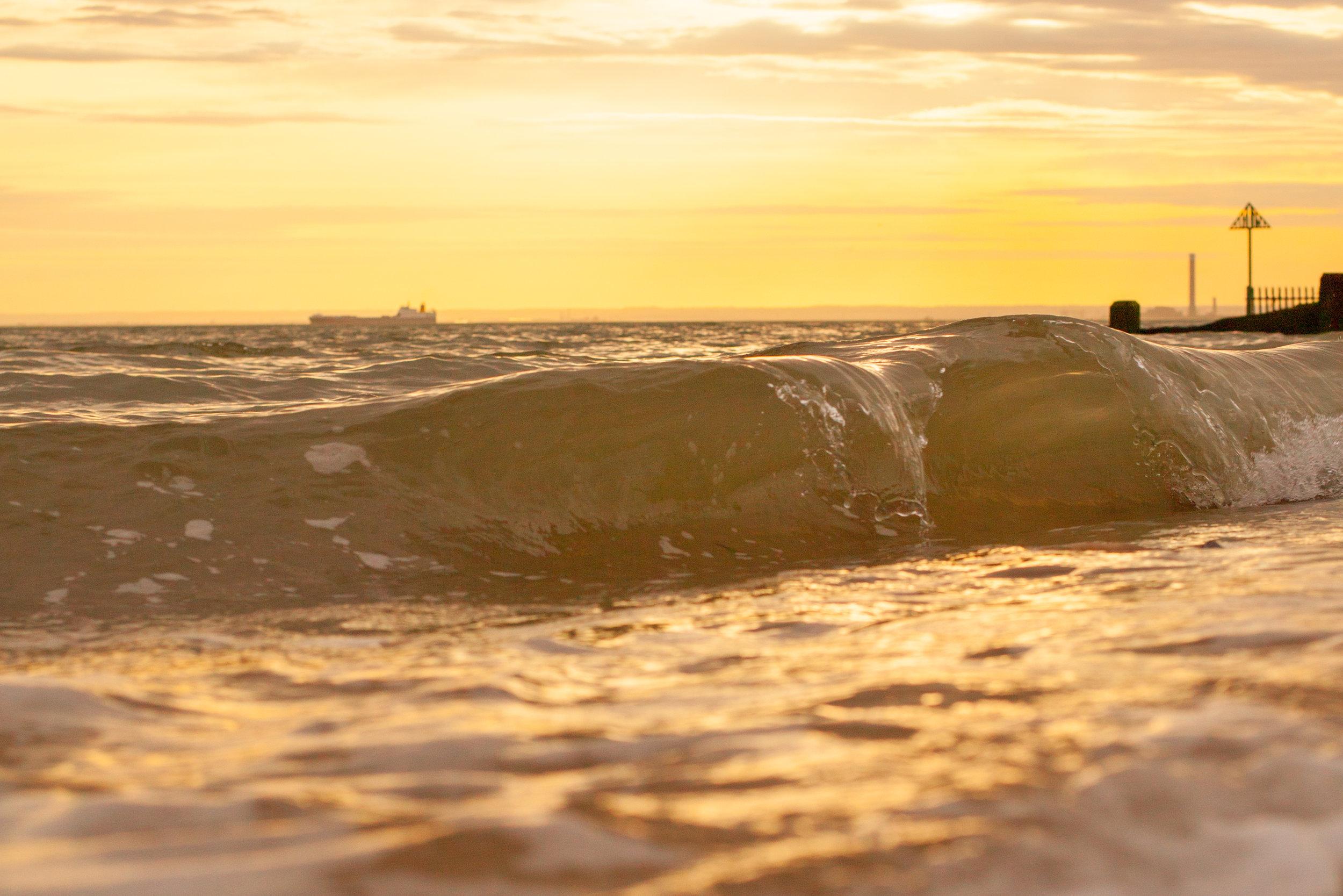 Down by the Sea, Shoeuburyness, Essex.