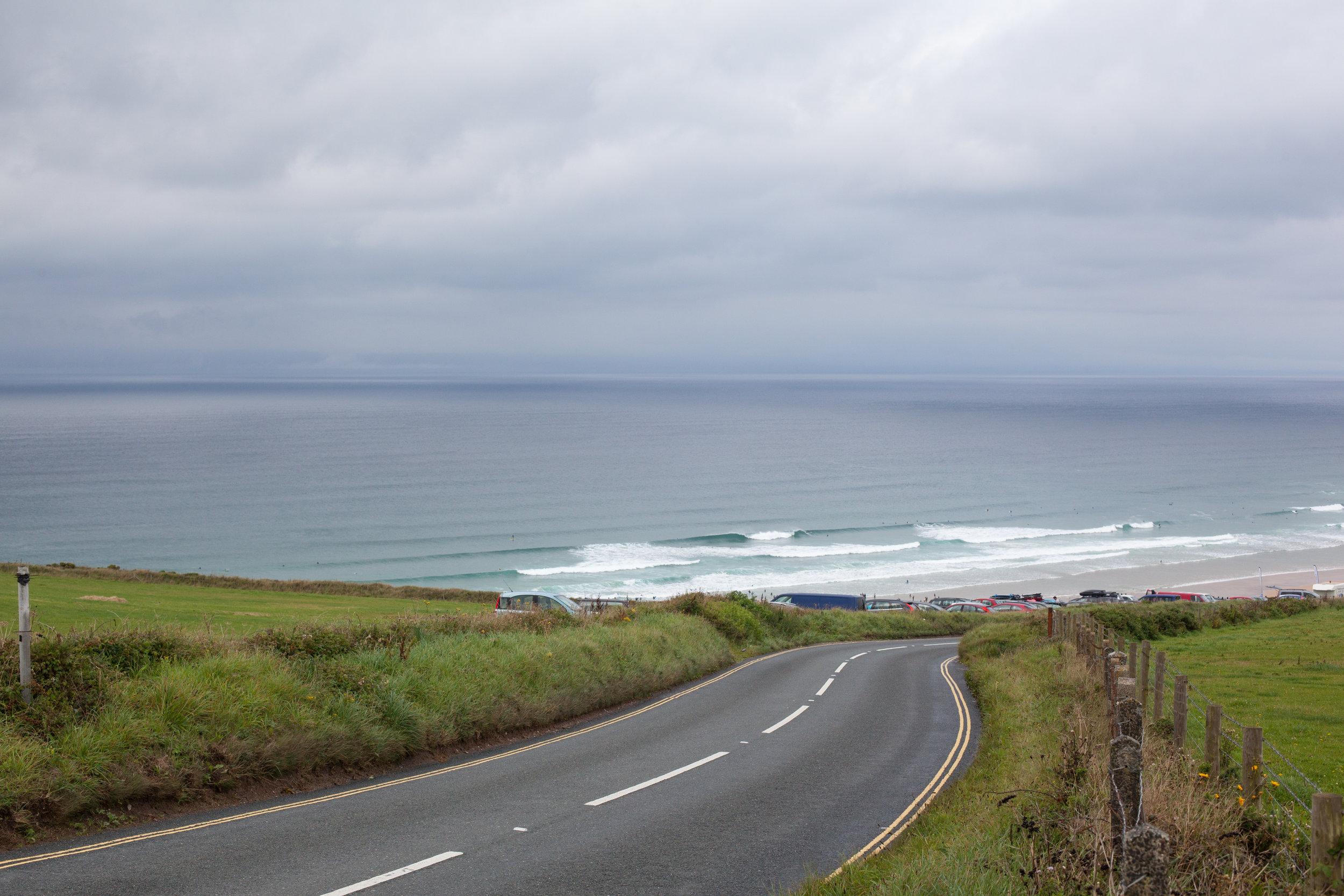 Beaches of Cornwall.