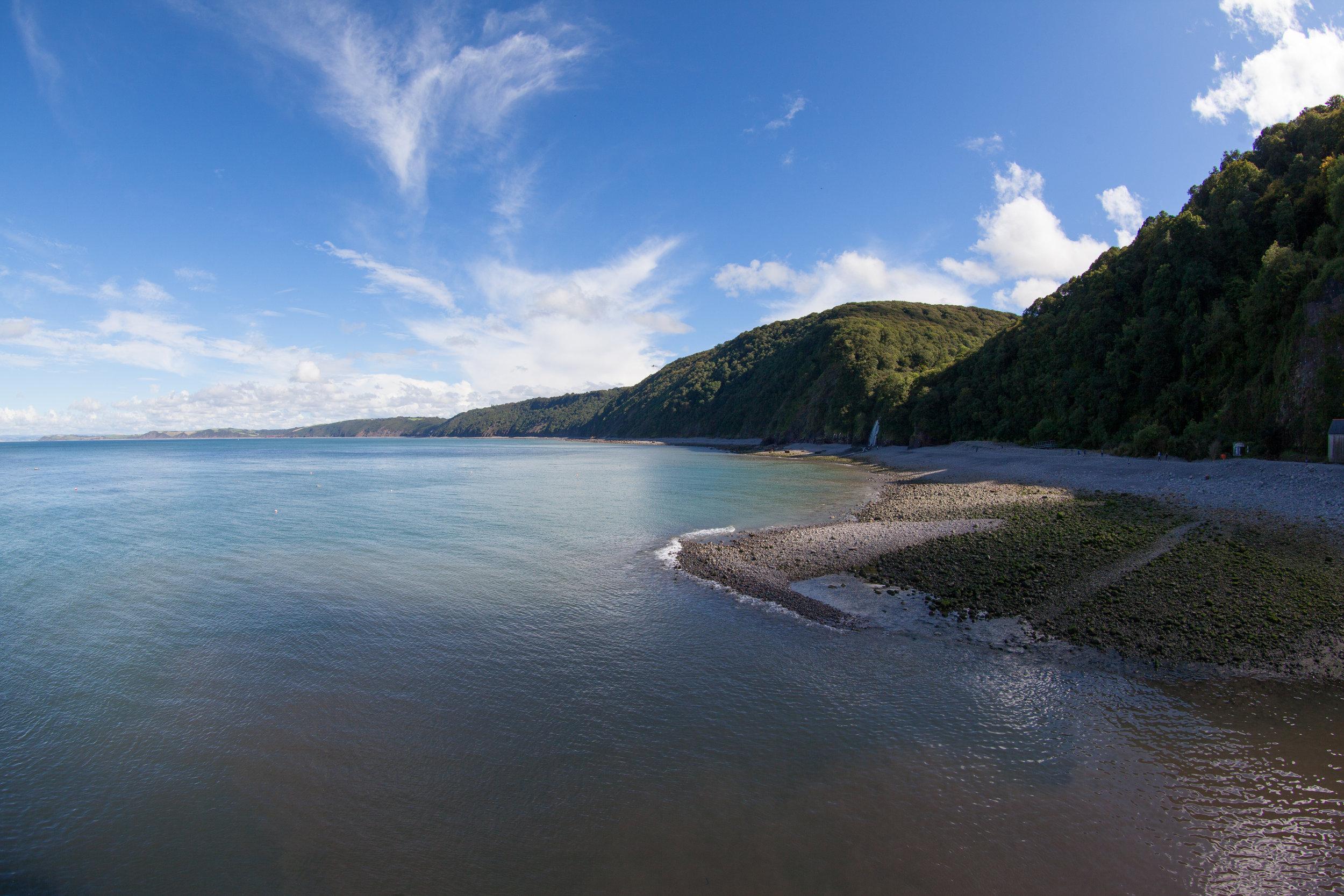 Beautiful British coastline.