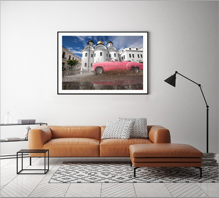 Cool Cuban Art work for sale by geraint rowland photography and Linda Wisdom Photography.