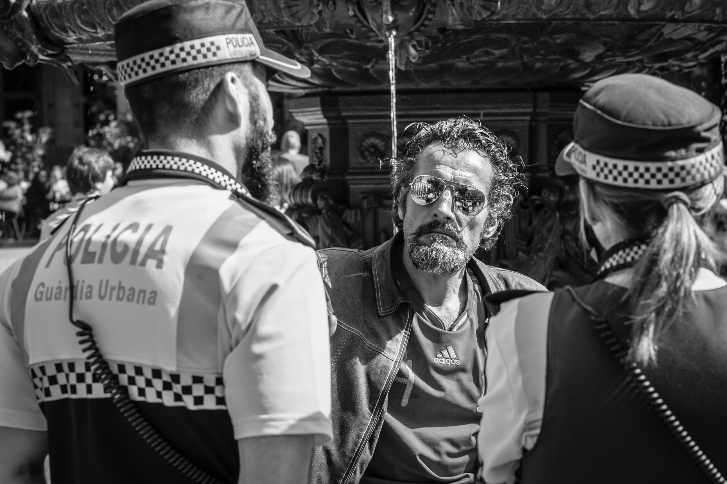 Street Portraits in Barcelona by Geraint Rowland Photography.