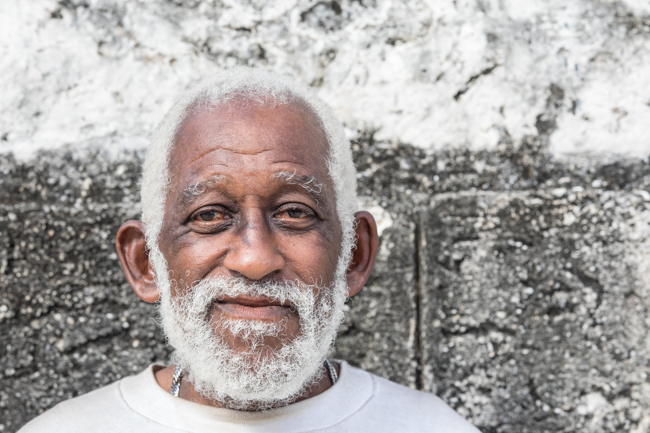 A head shot portrait taken in La Habana, Cuba.