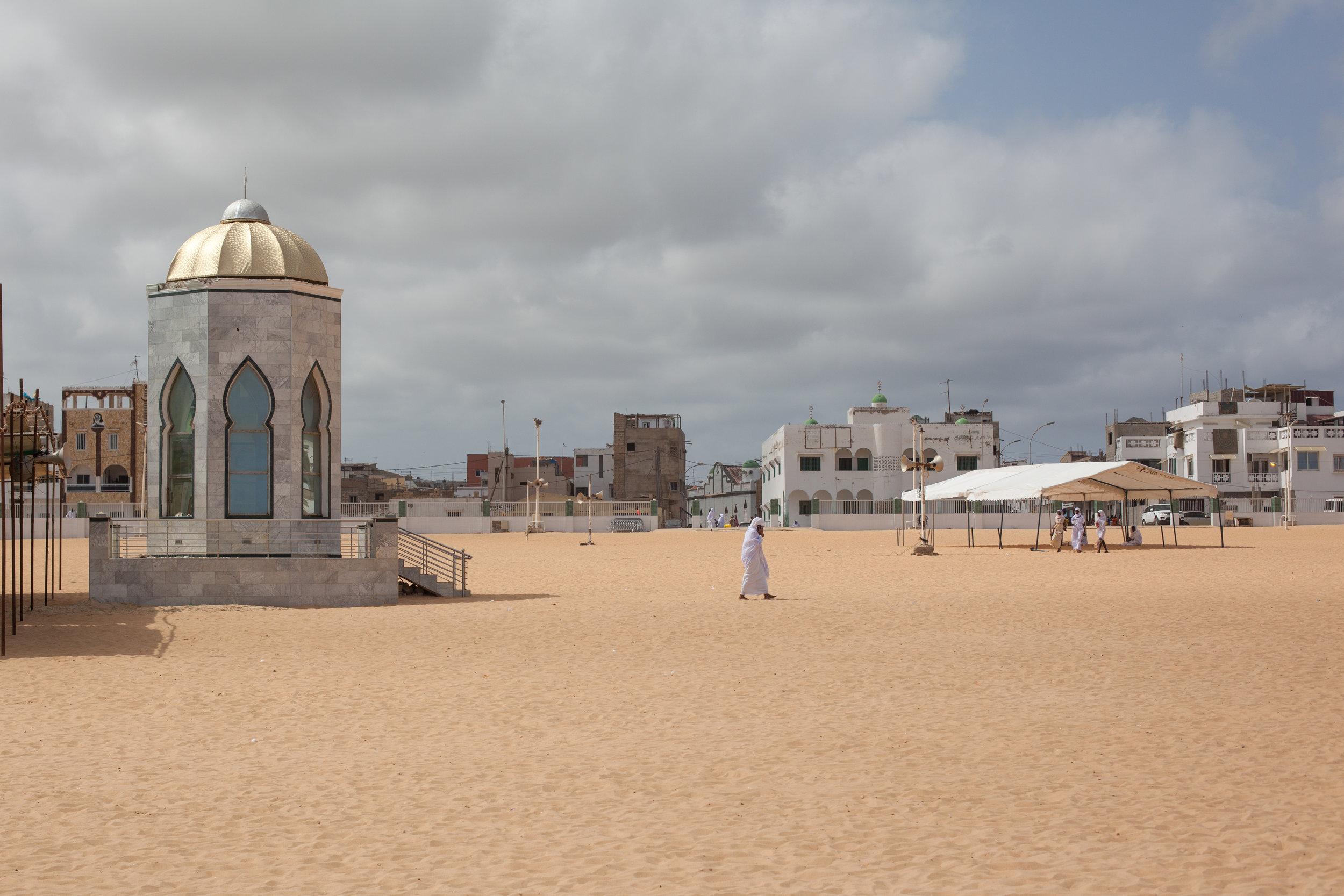 The Grande Mosquée de Yoff, Dakar, Senegal.