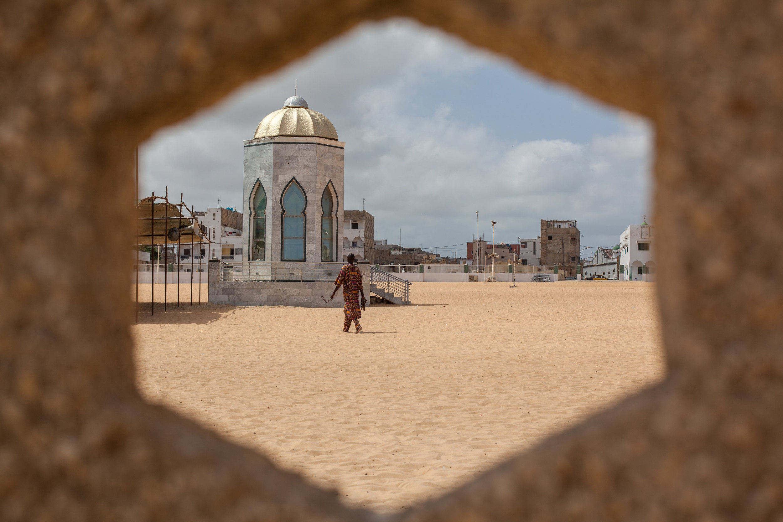 Grande Mosquée de Yoff, Dakar, Senegal.