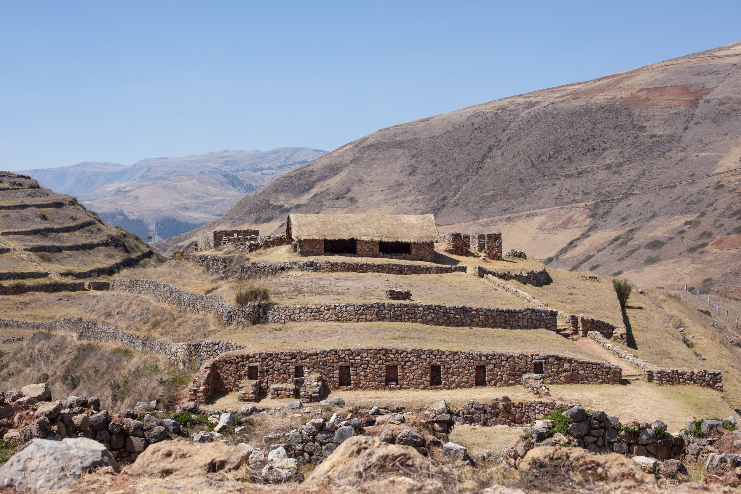 Sóndor is an archaeological site in Peru built by the Chanka people.