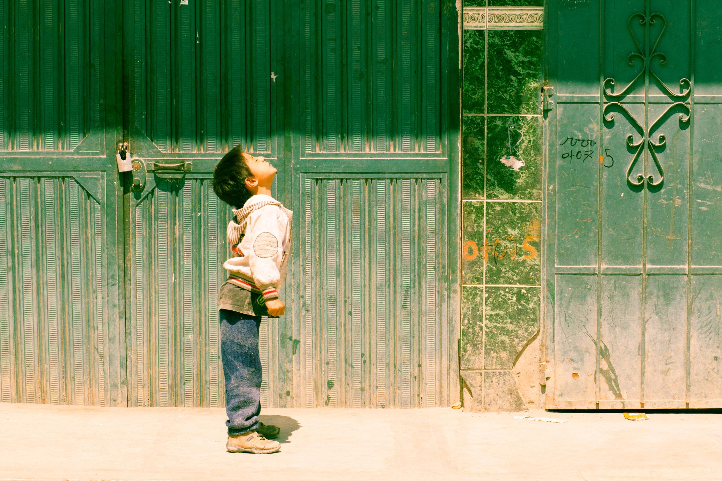 Geraint Rowland Photography: Street Portrait in Peru.