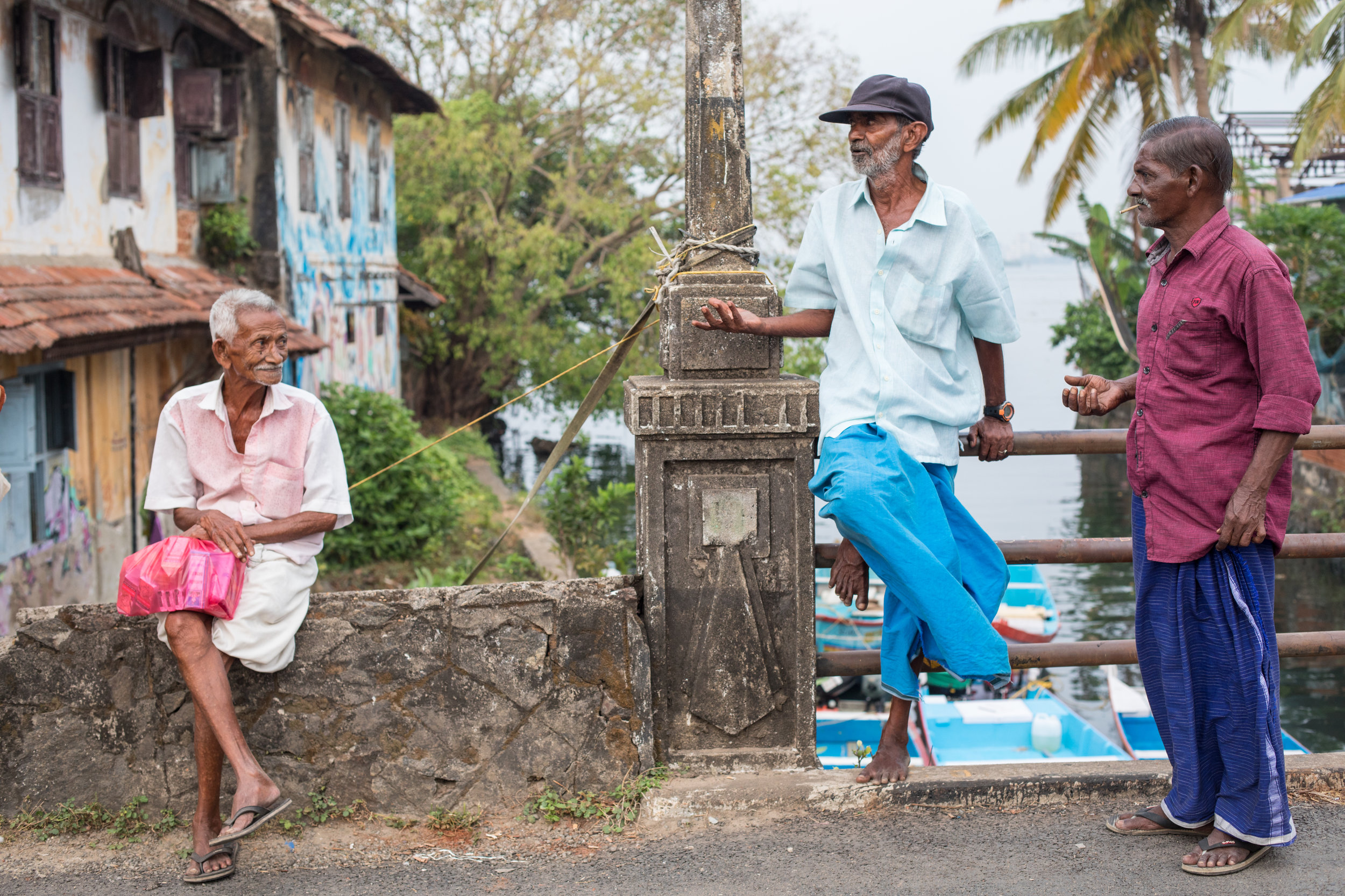 Street Photography in Fort Kochi, Kerala, India.