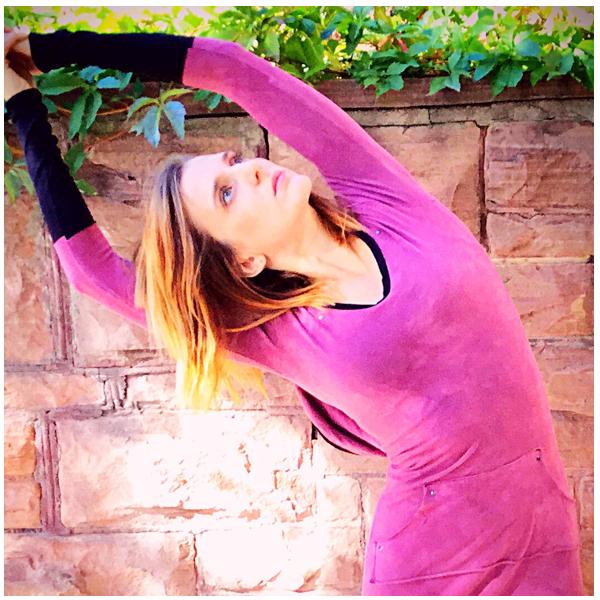 Outdoor Yoga classes at Chautauqua Park with Aubrey Davis of Boulder's FitLiv