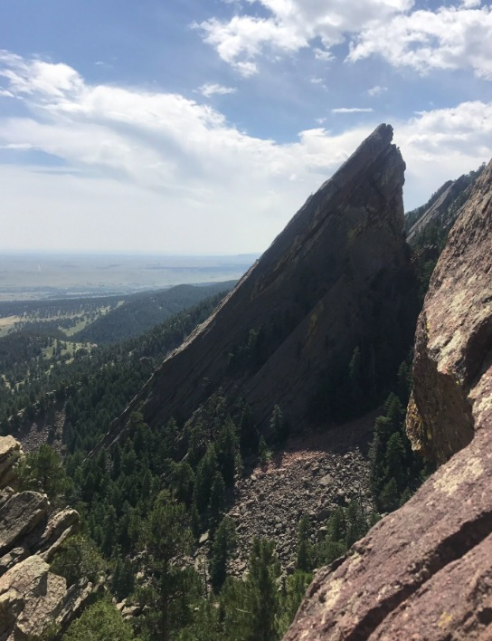 View of the 3rd Flatiron from the back of the 1st Flatiron
