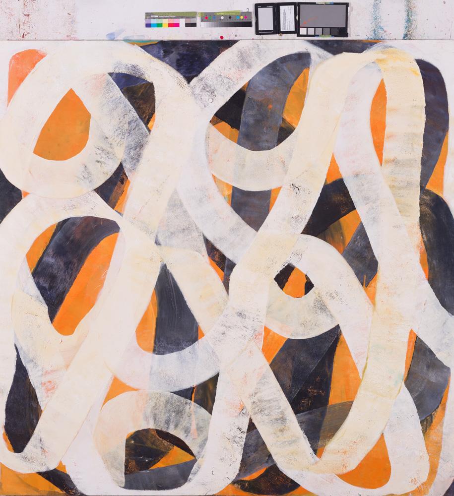 180x180cmOil paint on plywood