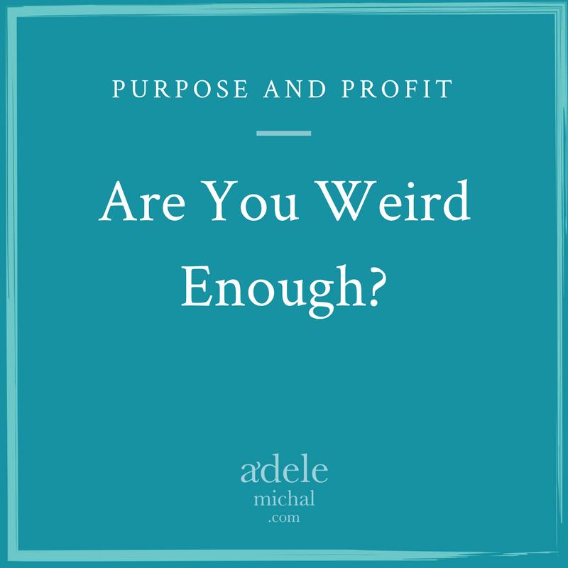 Are You Weird Enough?