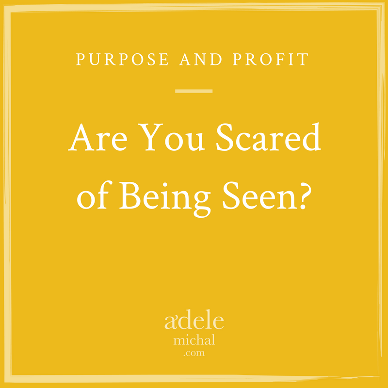 Are You Scared of Being Seen?