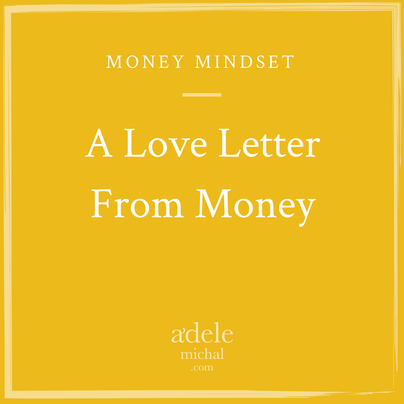 A Love Letter From Money