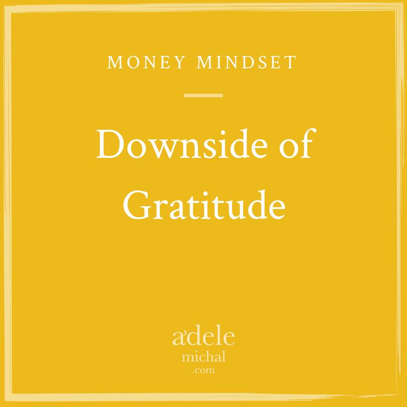 Downside of Gratitude