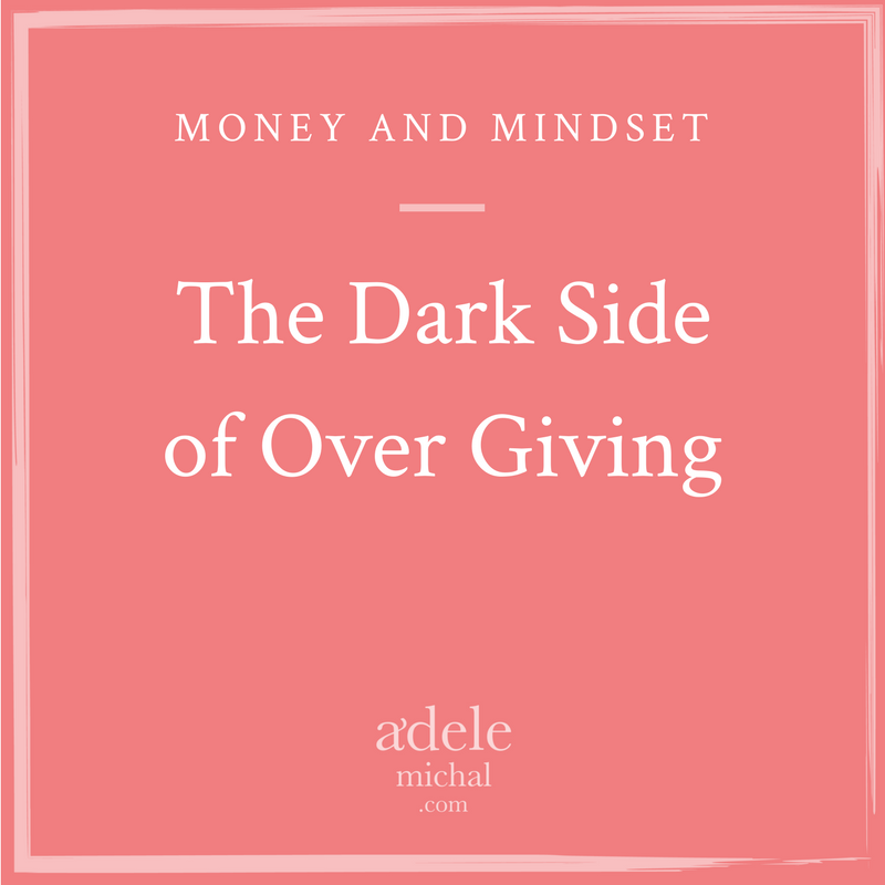 The Dark Side of Over Giving