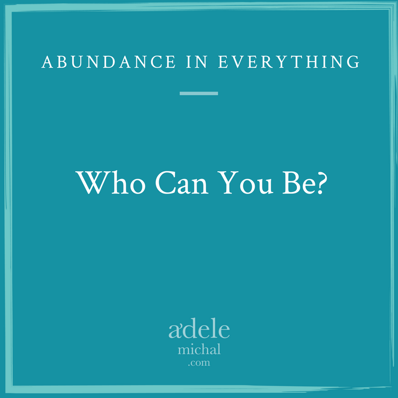 who can you be?