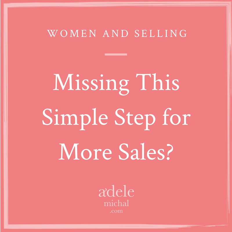 Missing This Simple Step for More Sales?