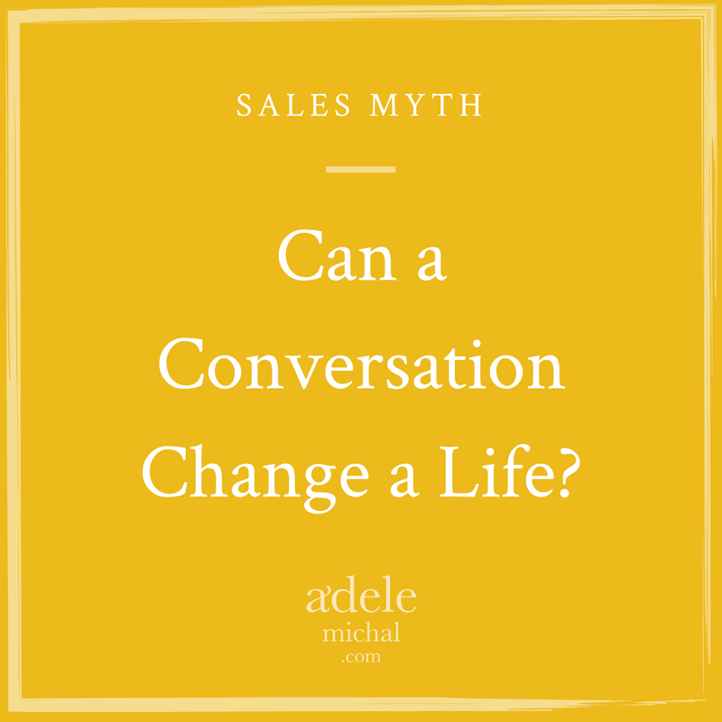 Can a conversation change a life