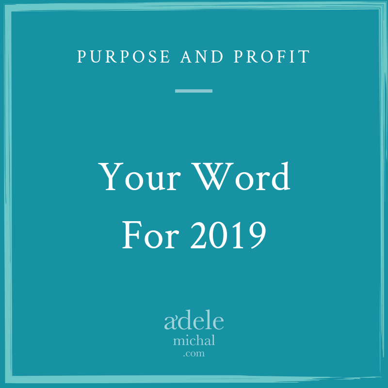 Word for 2019
