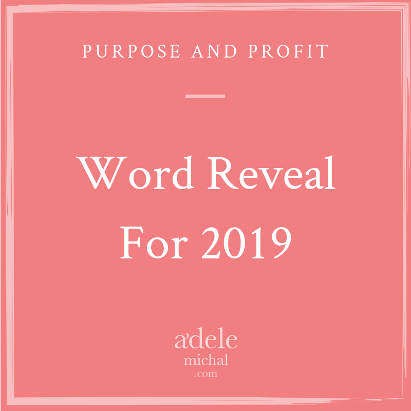 Word Reveal for 2019