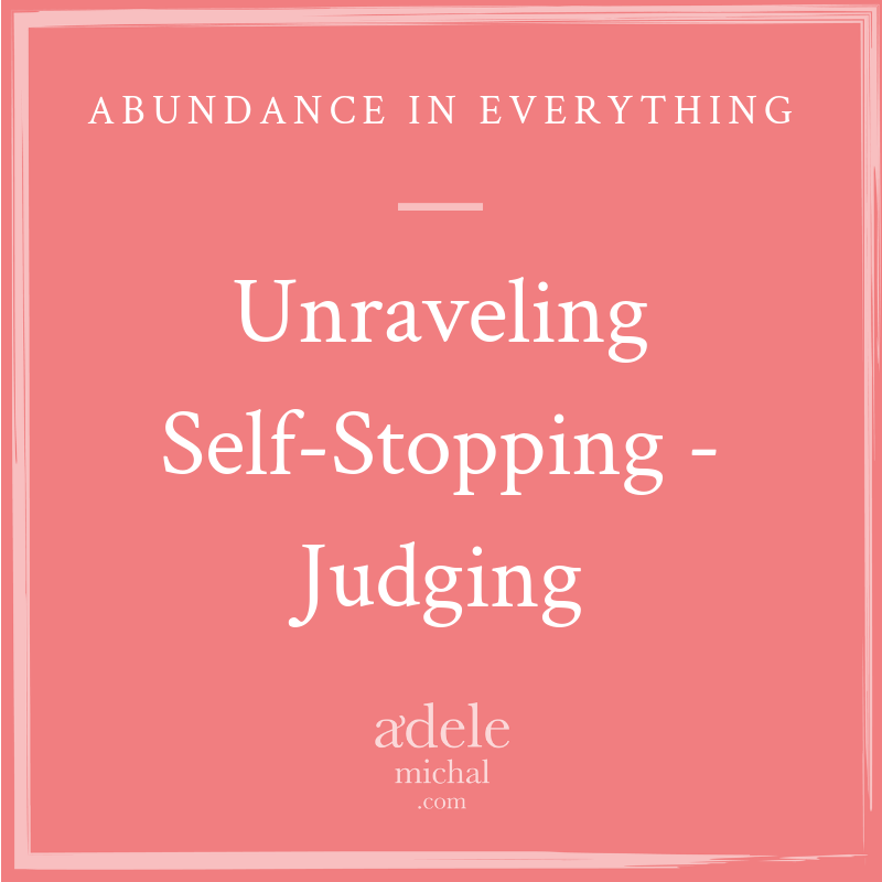 Unraveling Self-Stopping - Judging