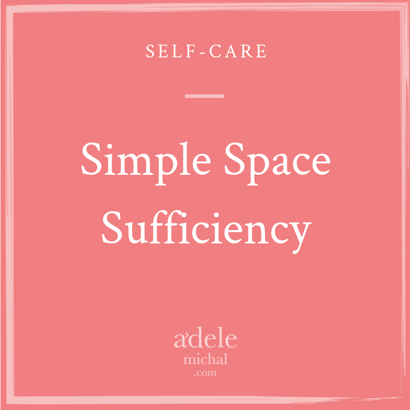 Simple Space Sufficiency
