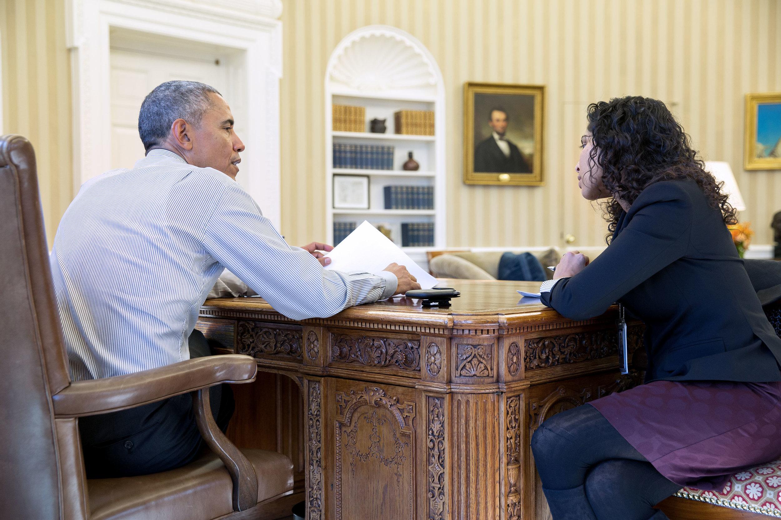 President Obama schools his speechwriter.
