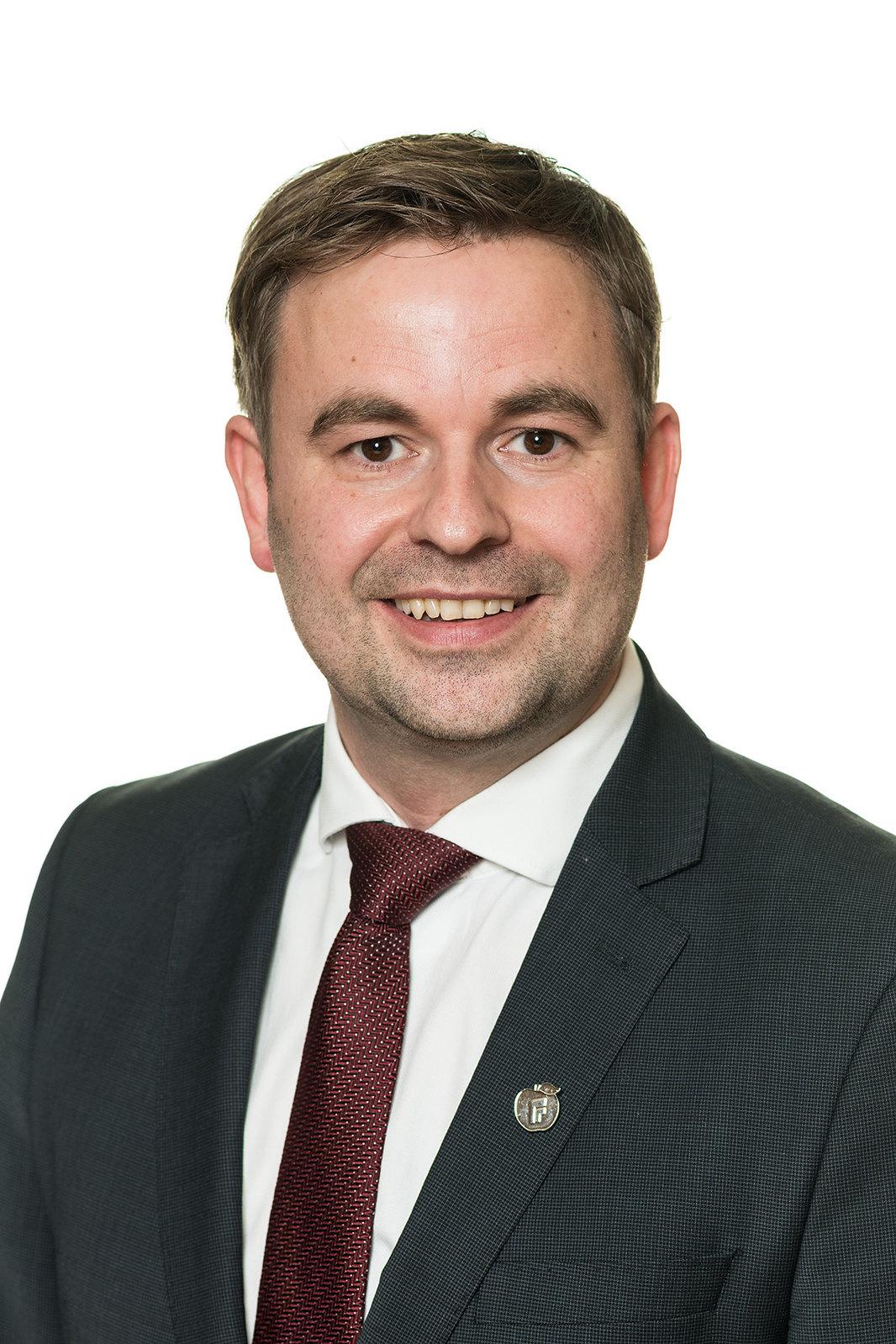 Statssekretær i Samferdselsdepartementet Allan Ellingsen (FrP)  Foto: Olav Heggø