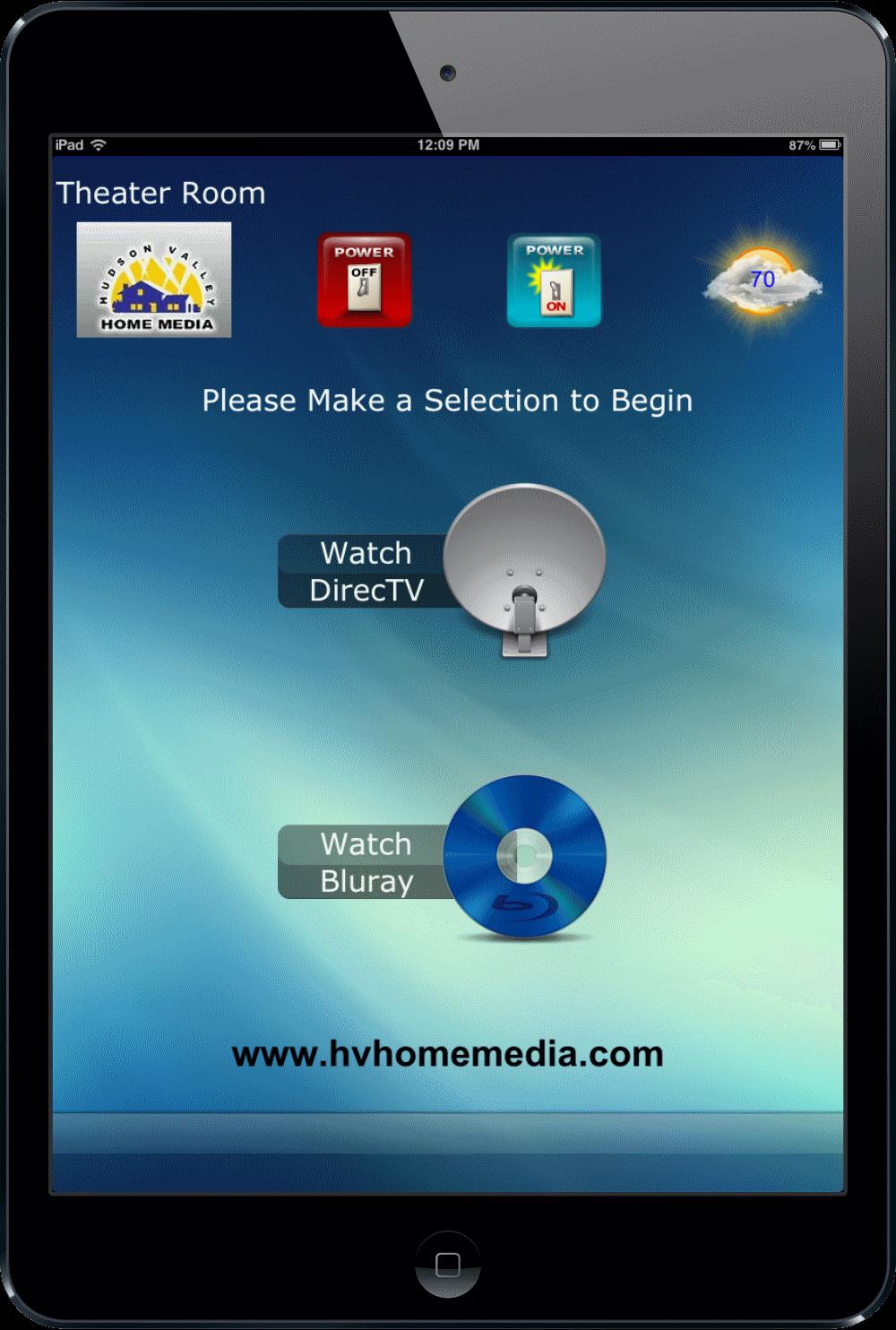 Universal Ipad Remote - Nyack, NY - HV Home Media - Hudson Valley Home Media