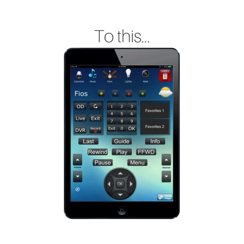 TV and Home Theater Universal Remote on an Ipad - HV Home Media - Hudson Valley Home Media - Nyack, NY.png