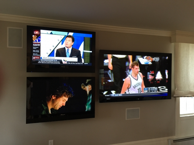 Integrated Home Theater Installation - TV Wall mounting - Surround Sound Speaker Installation - Chester, New York.jpg