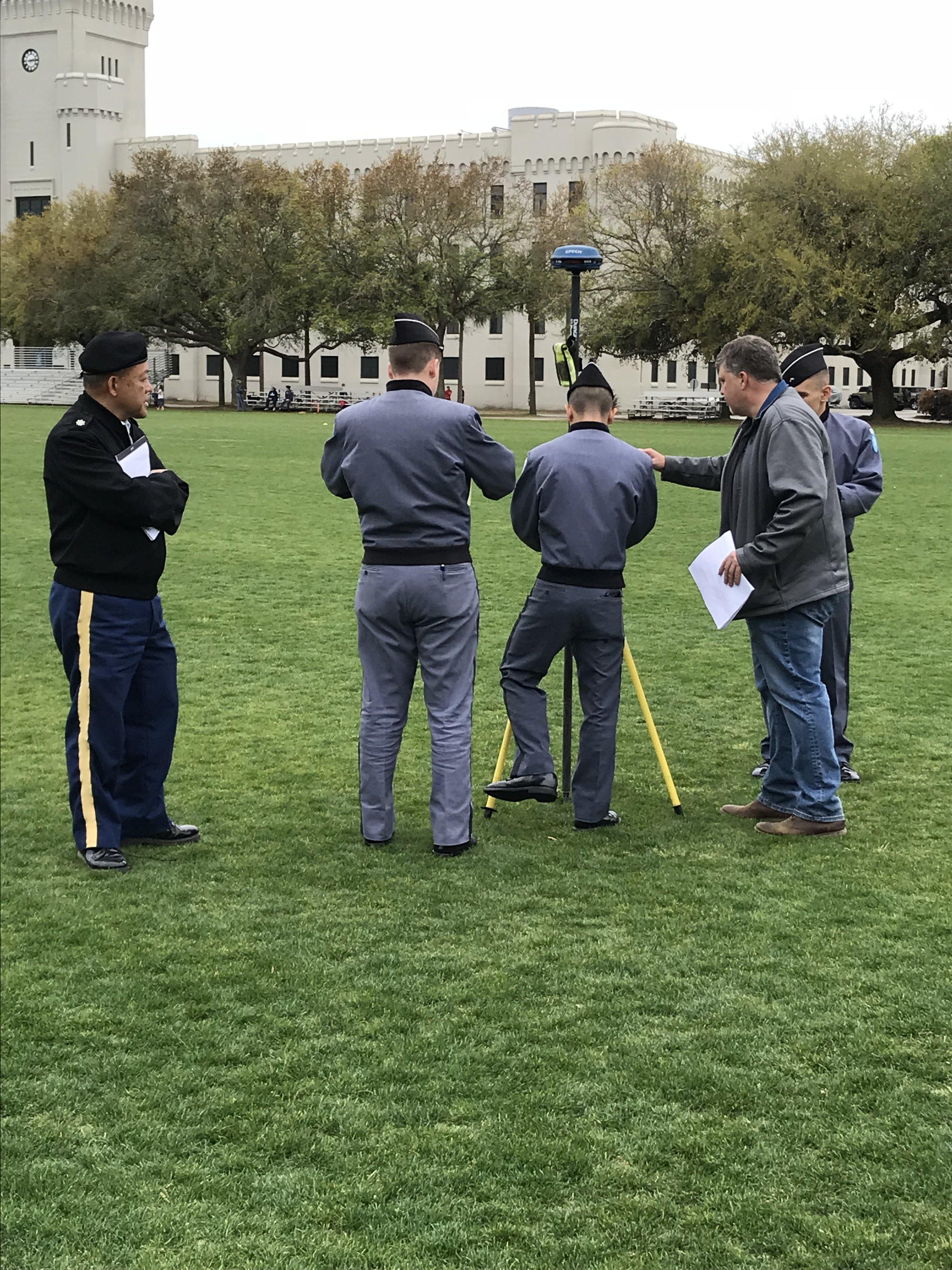 March 27th, 2018 Surveying Lab demo