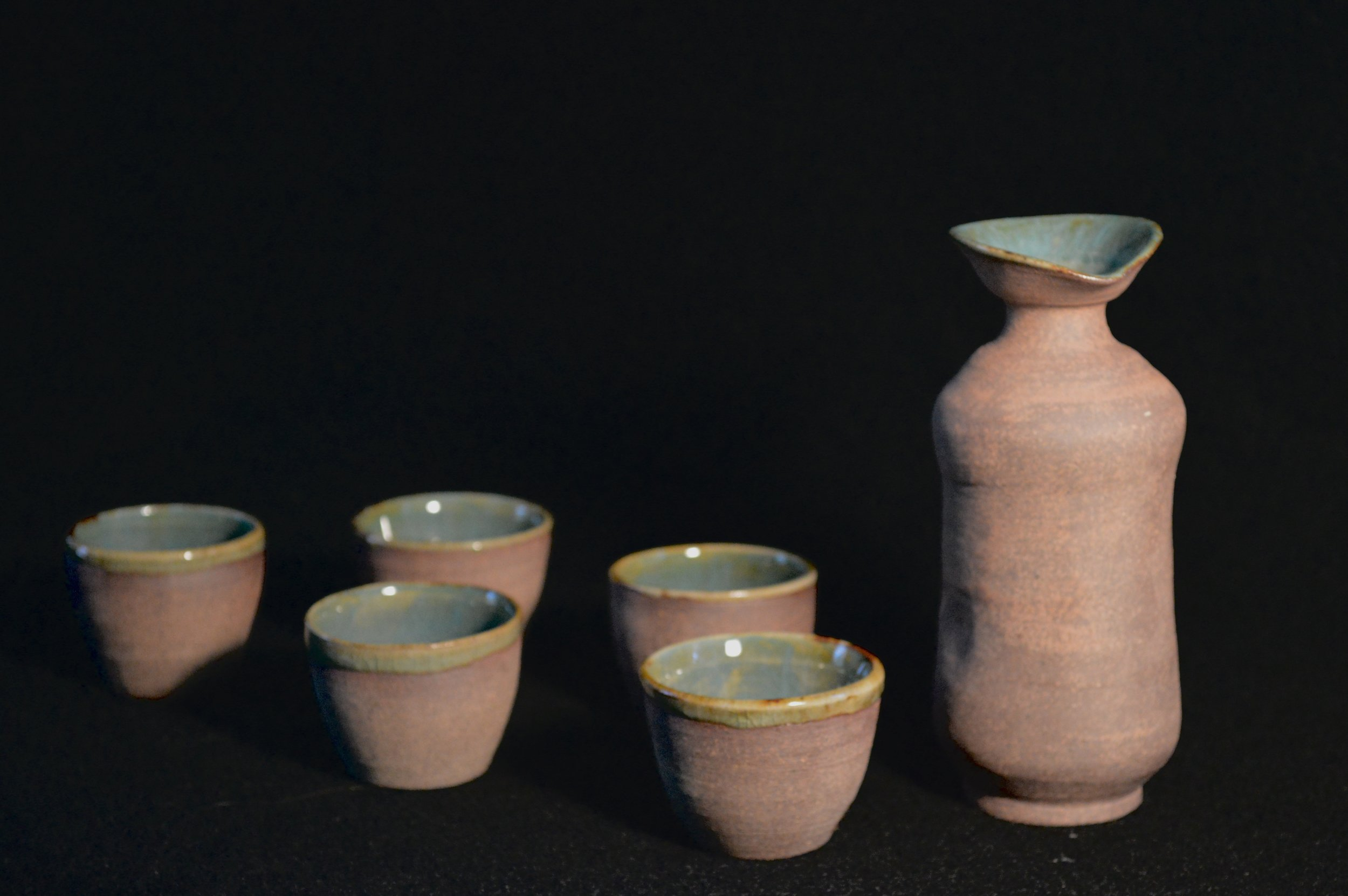 Ceramic Sake Set .jpg