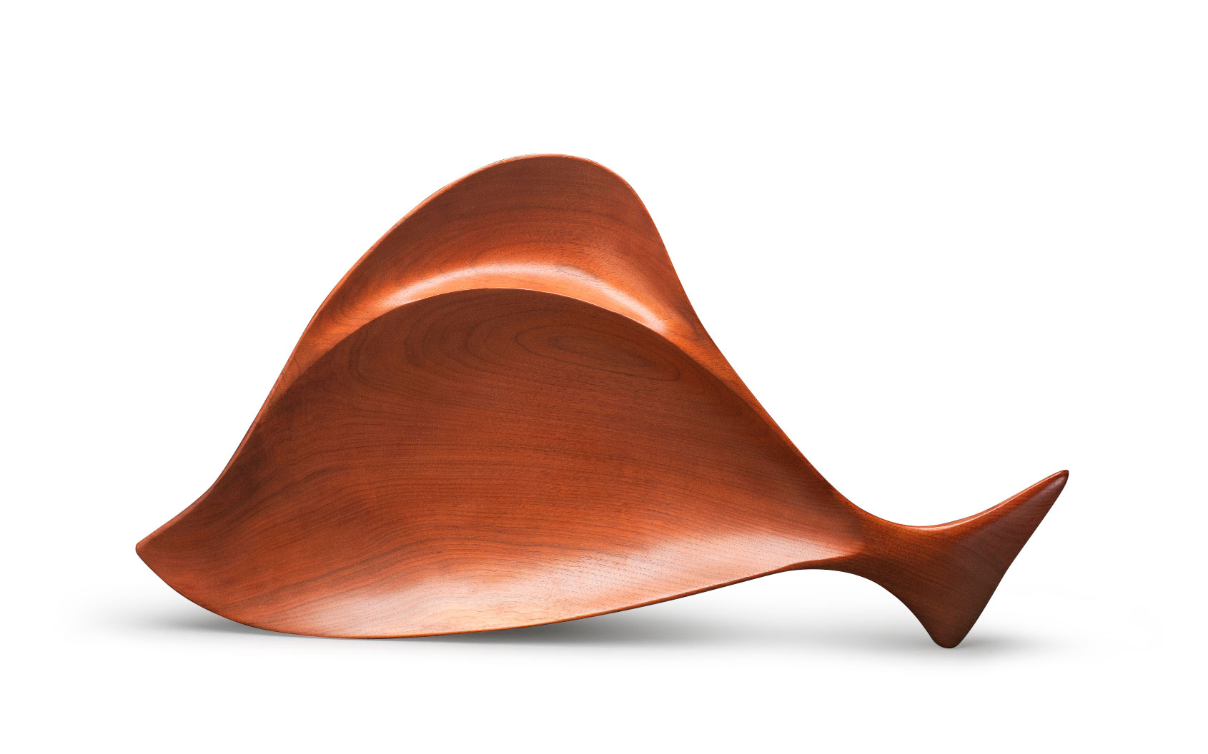 Two-Part Fish-Shaped Bowl