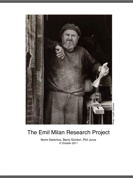 The Emil Milan Research Project Report, 2011.