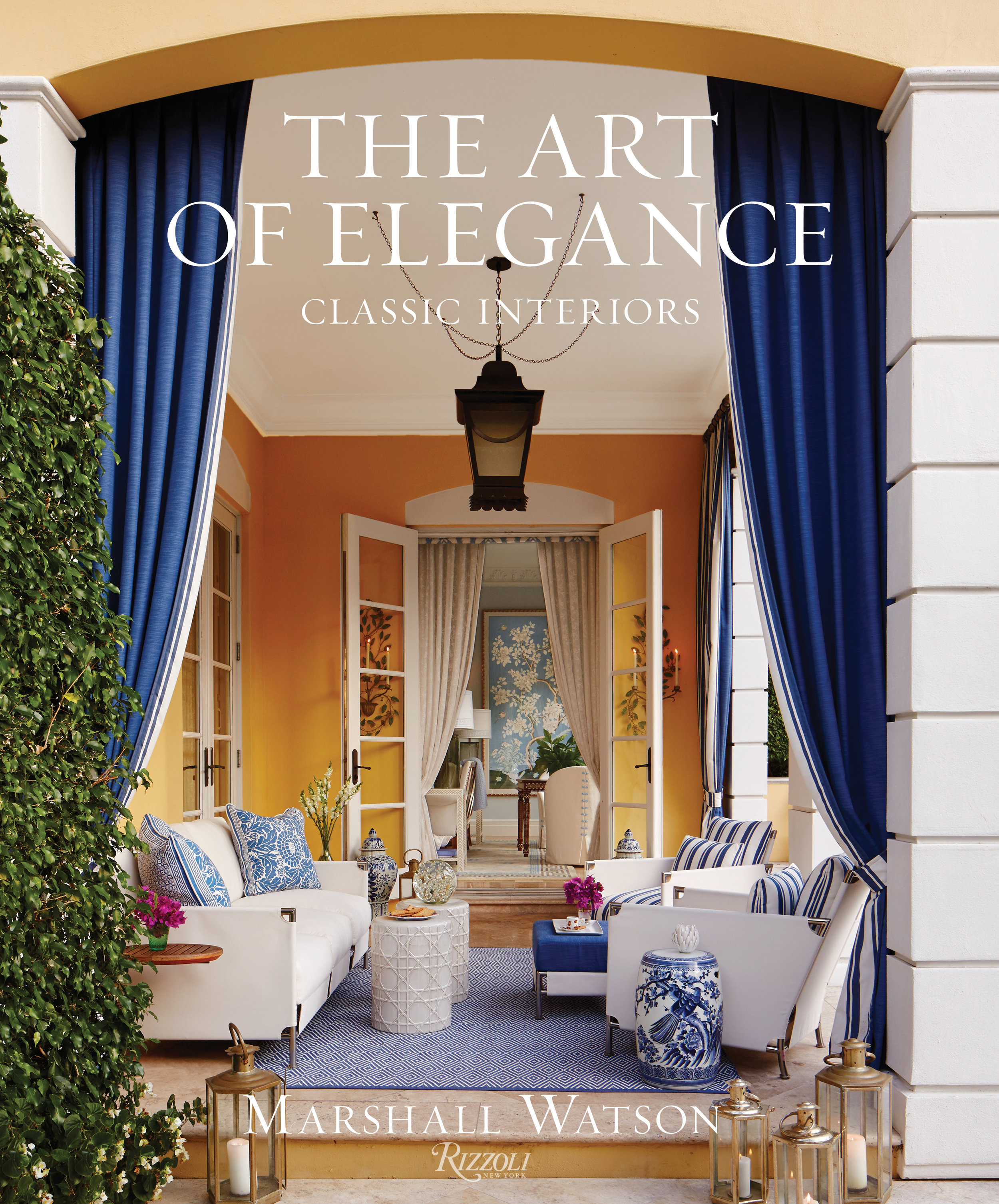 *Marshall Watson is the author of  The Art of Elegance: Classic Interiors  and periodically holds speaking engagements in St. Louis and across the country. He resides in East Hampton with his husband in a Greek Revival style home overlooking Gardiners Bay.