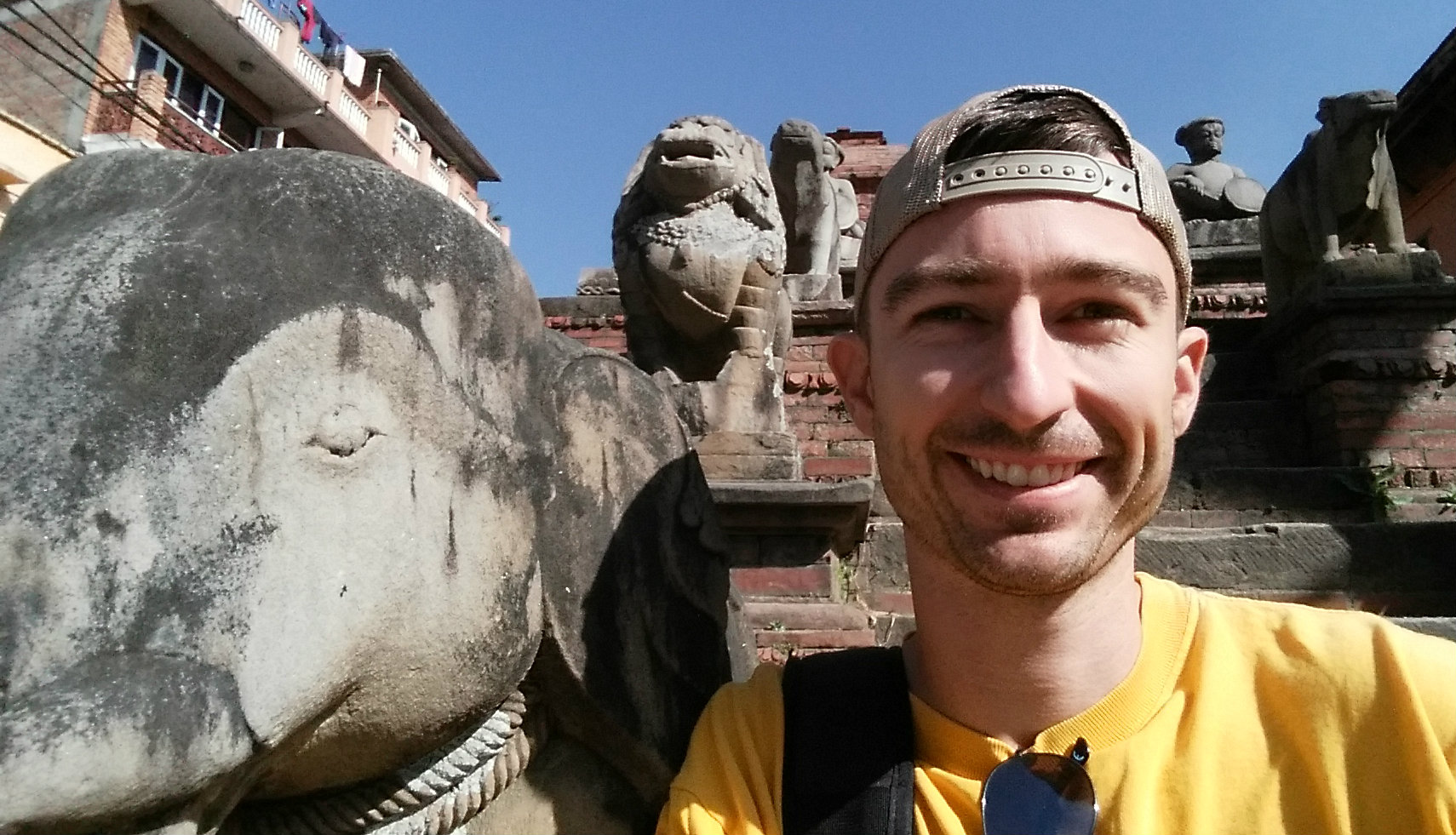 Johnny Fugitt visiting Nepal
