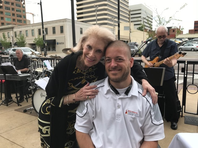 Joan Berkman and Adam Mueller, TREEHouse Ambassador