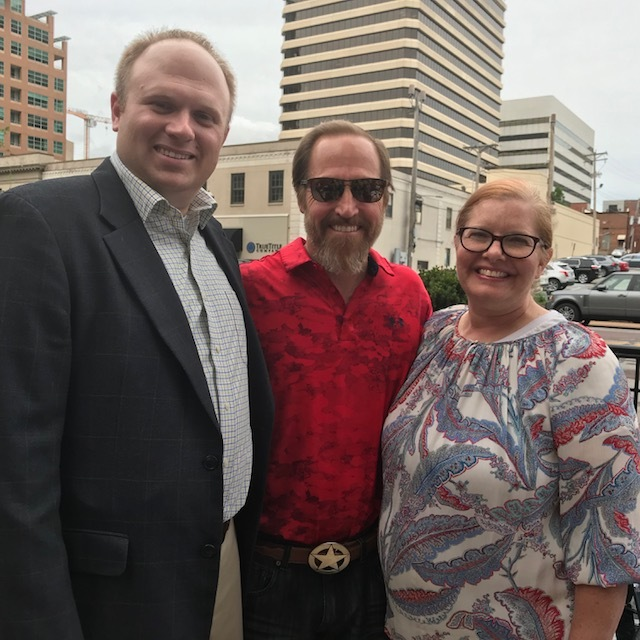 Nate Harms with TREEHouse Board member Pat Lepski and his wife, Chris.